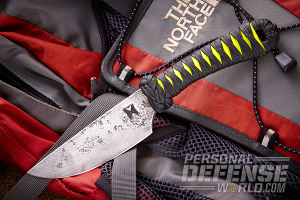 helm forge smaller cord wrapped blade