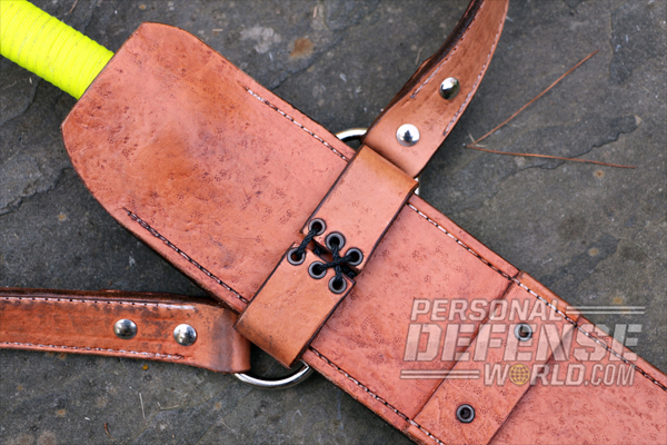 luke swanson frog style sheath for blades
