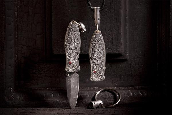 William Henry Morpheus Twilight pendant knife detached