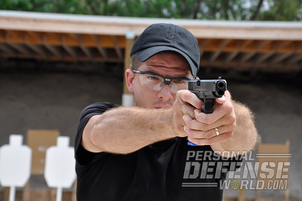 Robert Vogel aiming
