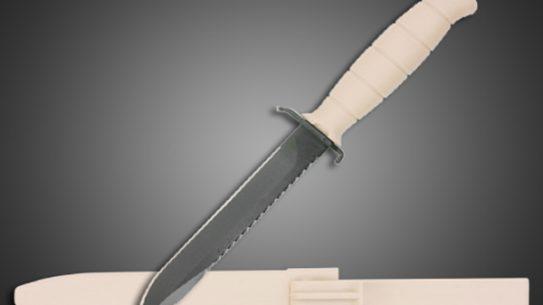 GLOCK Saw Back Sand Survival Knife