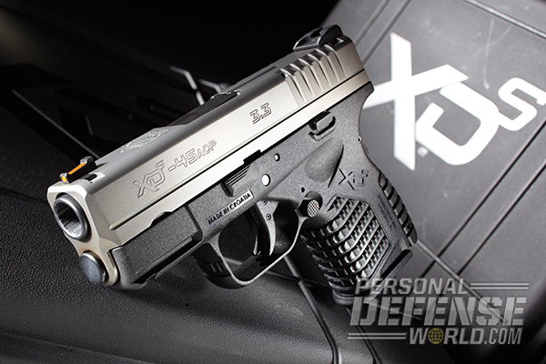 Springfield's XD-S  45 Gets Internal Upgrade