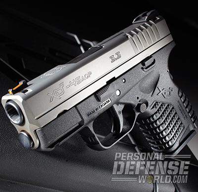 Springfield's XD-S .45 Gets Internal Upgrade