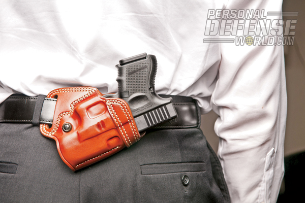 Concealed Carry Methods: Small of the Back Carry