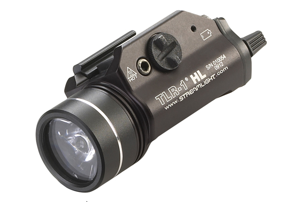 The TLR-1 HL puts out up to 630 lumens of blinding light with a 1.25-hour continuous run-time. This can flood the area with brilliant white light.