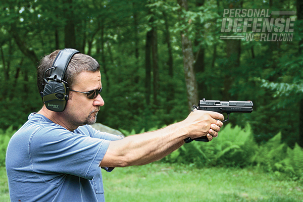 """The 97 B is not meant to be a pistol for bullseye competition, though in action-shooting sports it would do well."""