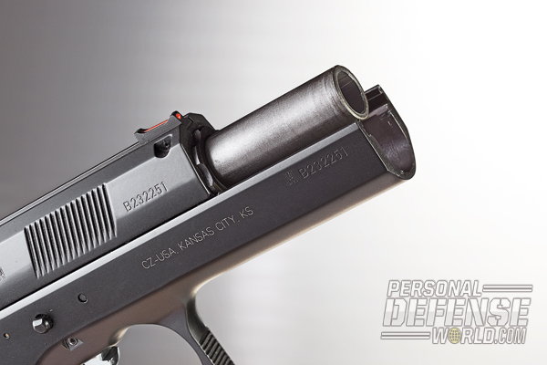 CZ 97 B Combines Modern Features with the Classic 75 Design