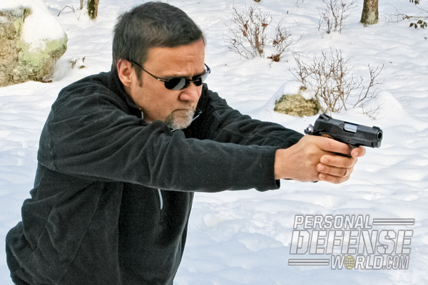 """In use, the small Kimber Ultra Raptor II was deadly accurate with manageable recoil, even with ball ammo."""