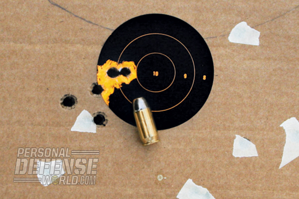 Accuracy was quite good at 15 yards, with a tightest group of 0.80 inches.