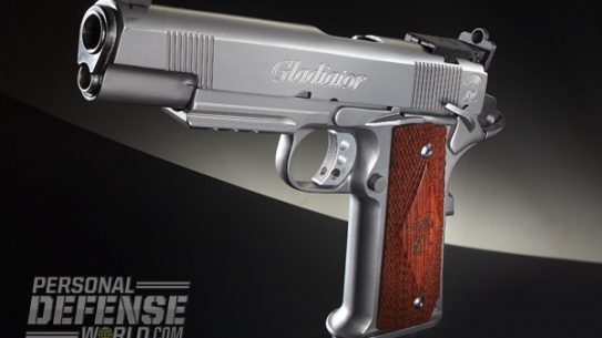 """Maximus Arms began in 2010 with the idea of building an 'improved' single-stack 1911 pistol. Looking at materials used to make the M1 Abrams tank, it settled on 17-4PH stainless steel...[I]t should provide for a very long service life in a 1911 pistol."""