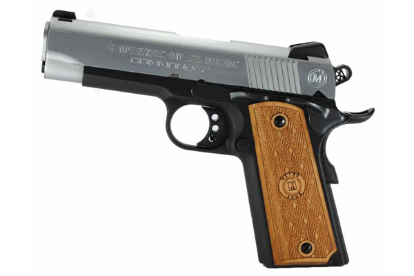 Metro Arms American Classic Commander - Duo-tone with a Deep Blue frame and Hard Chrome slide