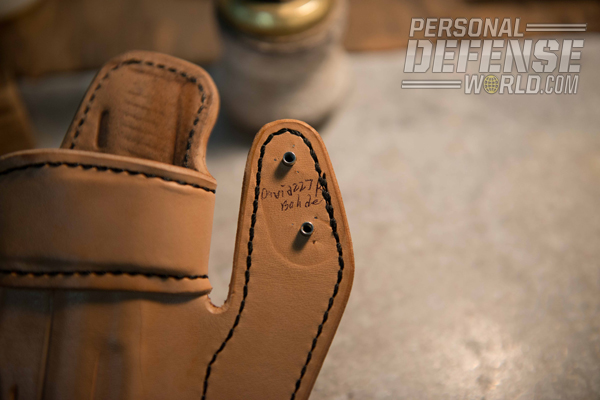 Dave Bahde's Holster -Closeup
