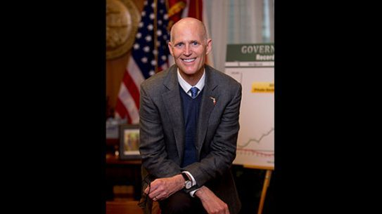 "Florida Gov. Rick Scott signed the ""Warning Shot"" bill (HB-89) into law."