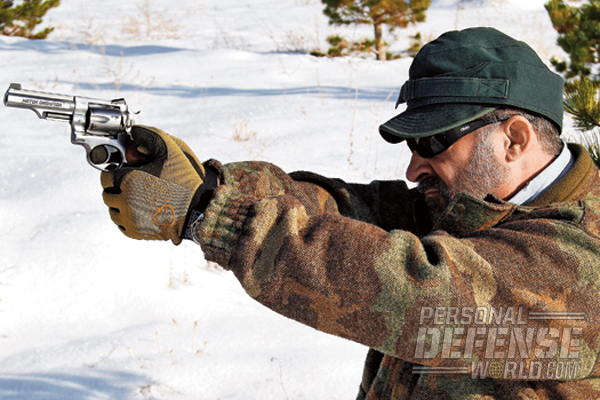 The author found the GP100 Match Champion to be controllable and pleasant to shoot with magnum loads.
