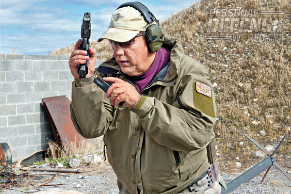 """I purchased the Sig P226 SAO for use as a duty pistol during department training, but I carried it concealed, and still do."""
