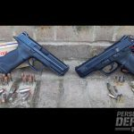 Smith & Wesson M&P40 and M&P22