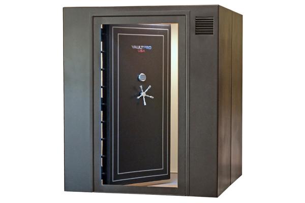 Vaultpro usa 39 s modular safe rooms for Modular safe rooms