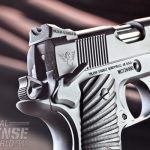 The pistol features an ambidextrous safety.