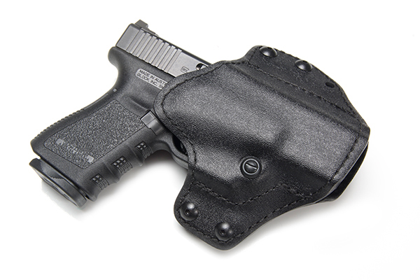 "Pancake Pro Holster, Glock 19/23, Right Hand, 1.5"" Belt, Black Kydex"