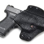 """Pancake Pro Holster, Glock 19/23, Right Hand, 1.5"""" Belt, Black Shark"""