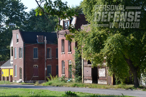 Know the Neighborhood - Going one block off a main thoroughfare can often put you in a war zone.