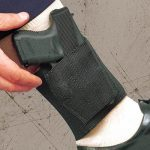 10 DeSantis Holsters That Help with Concealed Carry - DeSantis Apache Ankle Rig worn