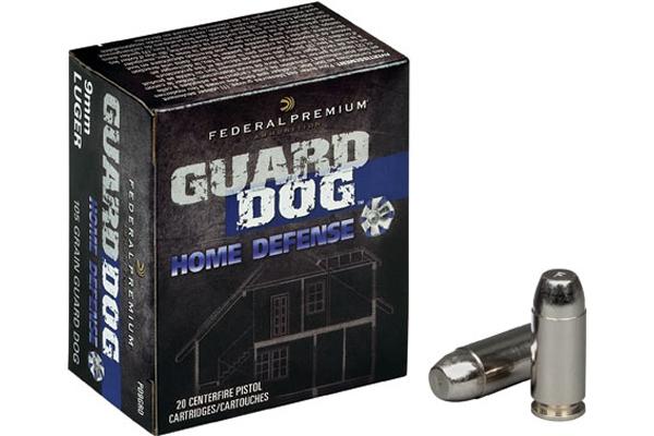 Federal 105-grain Guard Dog