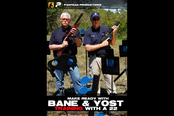 """Make Ready with Bane & Yost: Training with a 22"" DVD Cover"