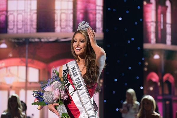 Miss USA Nia Sanchez (pictured) stood by her controversial remarks about self defense.