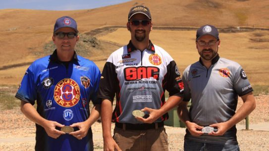 Rich Wolfe, Neil Hogue and Todd Crow Won at the 23rd Annual International Revolver Championship. (Photo: Facebook)