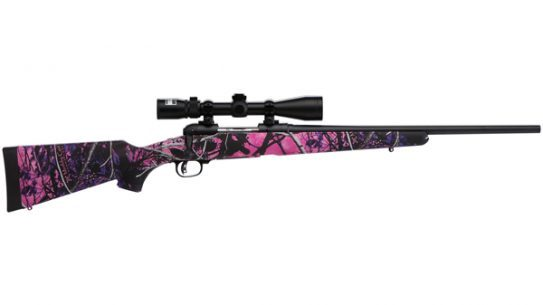 Savage Arms - Model 11 Trophy Hunter XP Youth Muddy Girl scoped-rifle package