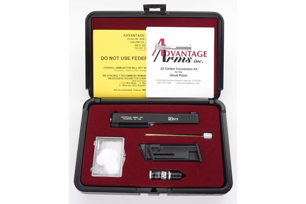 Advantage Arms: .22 Caliber Conversion Kit for the Glock Pistol