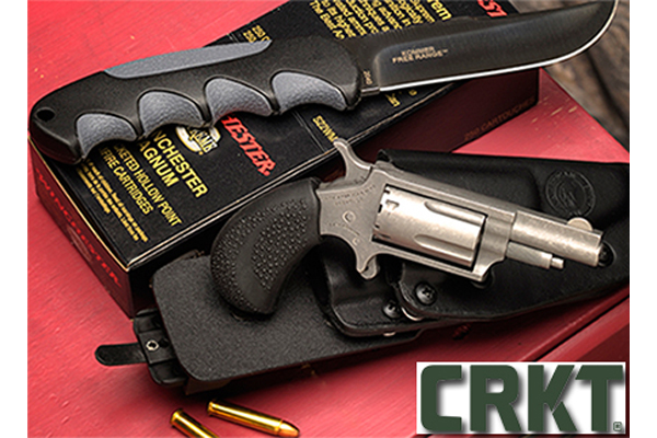 CRKT and North American Arms' Tucker Trailmaster