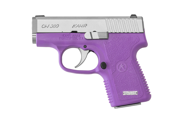 Kahr's purple CW380
