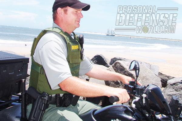 SJSO Beach Patrolman Keith Oke