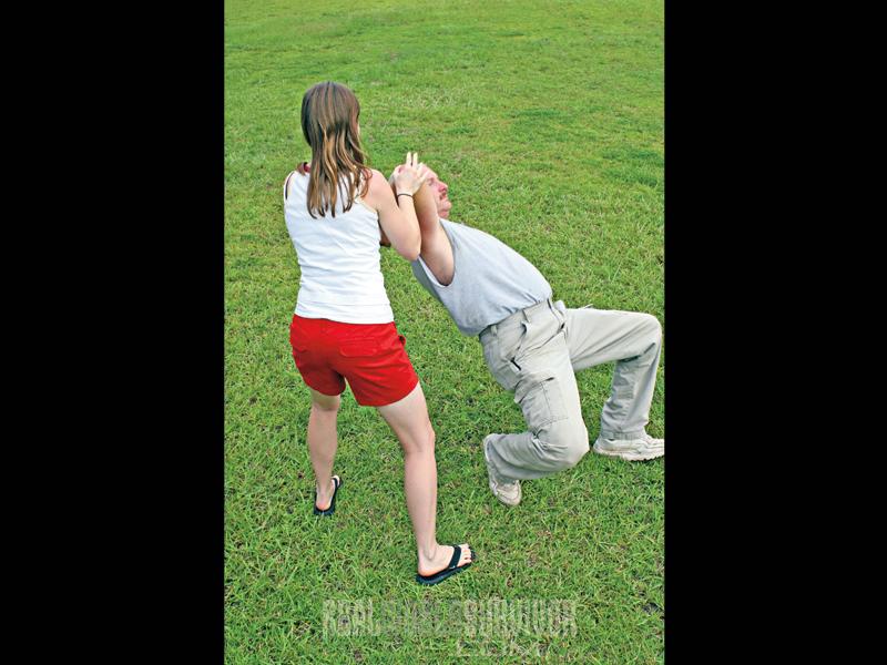 self defense escape tactics, ground