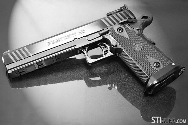 STI 1911 Defenders: The Edge, Perfect 10 & Ranger II Handguns