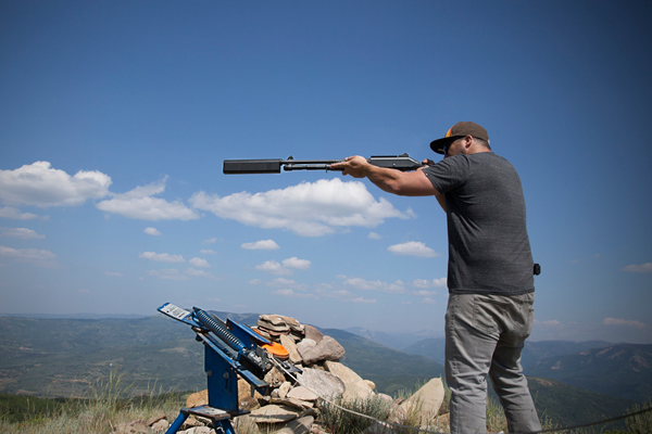 SilencerCo Salvo 12 shotgun suppressor