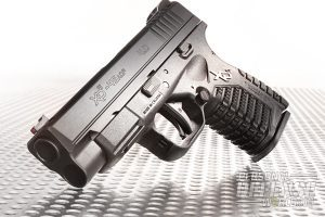 """Initially released in 9mm, Springfield's 4.0"""" XD-S is now chambered in .45 ACP, combining big-bore power with the 4.0's longer barrel to create a powerful, accurate yet easily concealable CCW package."""