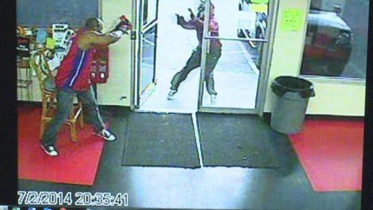 Security Guard Joseph Watkins stopped a would-be robber in Jonesboro, Georgia. (Photo: Jonesboro Police Department)