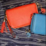 Concealed Carrie: Bright Red Leather & Cool Blue Leather