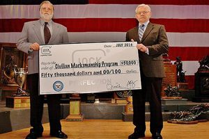 Glock has made the first of three scheduled donations to the Civilian Marksmanship Program (Photo: Facebook)