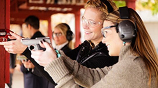 NRA-certified instructor Richard Harris is teaching a handgun self-defense course at Northland Pioneer College's Show Low – White Mountain Campus in Arizona. (Photo: www.NPC.edu)