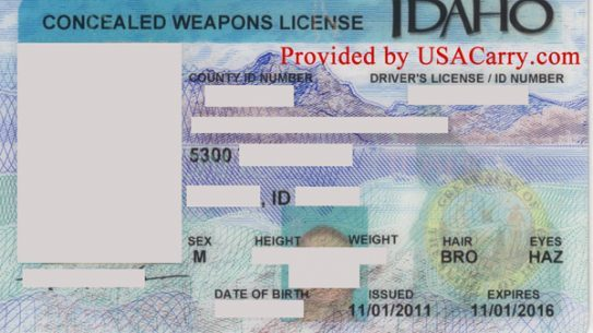 Idaho's enhanced CCW permit is becoming more popular. (Photo: USACarry.com)