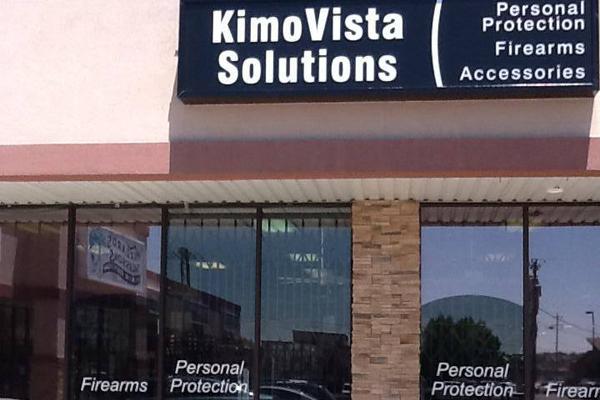 Farmington, New Mexico gun store KimoVista Solutions caters to female customers. (Photo: Facebook)