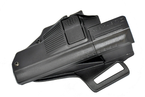 SLVE's safety holster for Glock pistols.