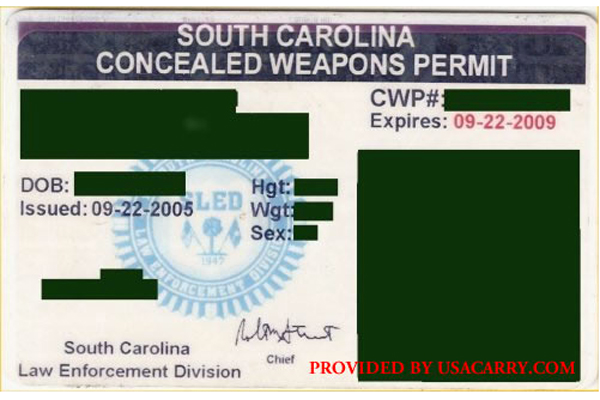 South Carolina concealed carry permit applications more than doubled over the past three years. (Photo: www.USACarry.com)