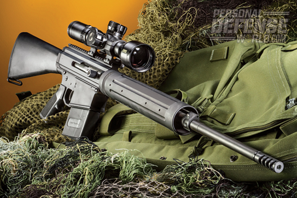 """Despite testing with three different ammunition types, with bullet weights ranging from 165 to 180 grains, the rifle functioned flawlessly with everything on the factory setting."""
