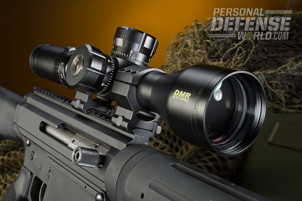 The Noreen's Picatinny rail handles any suitable optic.