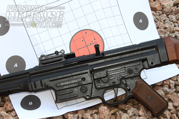 With imperceptible felt recoil, the gun is a pleasure to shoot and is capable of good accuracy with its iron sights.